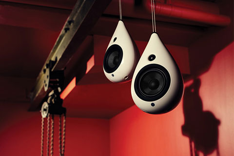 Podspeakers The Drop, loft beslag