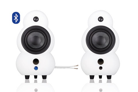 Podspeakers MiniPod BT and Passiv, white