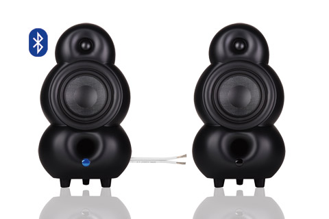 Podspeakers MiniPod BT and Passiv, black