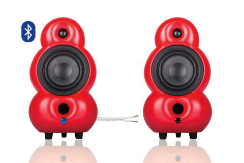 Podspeakers MiniPod BT and Passiv, red