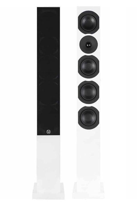 System Audio Saxo 50, hvid satin