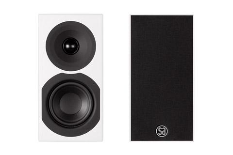 System Audio Saxo 1, hvid satin
