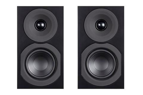System Audio Saxo 1, sort satin