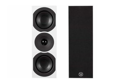 System Audio Saxo 10 reolhøjttalere, white satin