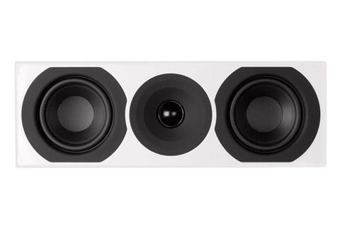 System Audio Saxo 10 center højttaler, hvid satin