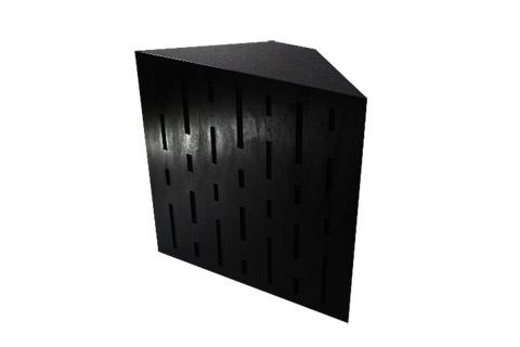 Decotrap bas fælde giver effektiv absorbering fra 50-500 hz, dog mest effektiv mellem 65-250 hz. Perfekt til