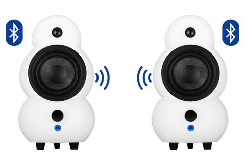 Podspeakers MiniPod BT stereosæt, mat hvid