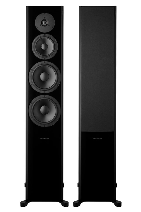 Dynaudio Focus 60XD, black highgloss
