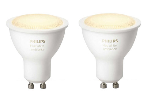philips hue white ambiance gu10 led p re. Black Bedroom Furniture Sets. Home Design Ideas