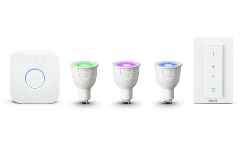 Philips Hue White and Color Starter kit, GU10