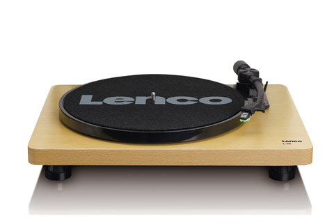 Lenco L-30 turntable, wood