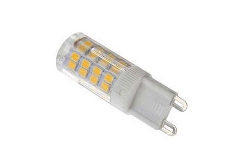 Kvalitets G9 LED med flimmerfrit varm-hvidt lys og et forbrug på kun 3,5W med hele 300 lumen. God erstatning for en G9 halogen pære på ca. 30W.