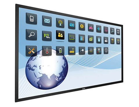 Philips T-line touch displays