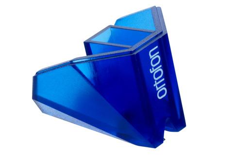 Ortofon 100 års Anniversary jubilæums-nål som erstatningsnål til Ortofon 2M Blue pickup eller som opgradering af en 2M Red pickup til en fordelagtig pris