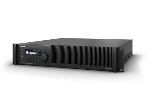 BOSE-PRO-PM8250N multikanals forstærker, 8x 250W