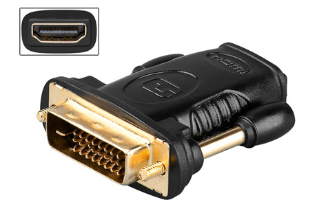 06-083 HDMI - DVI adaptor
