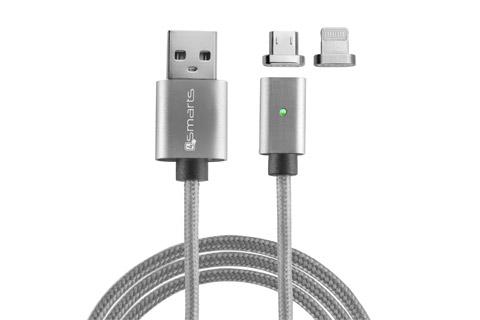 Magnet USB til Lightning kabel