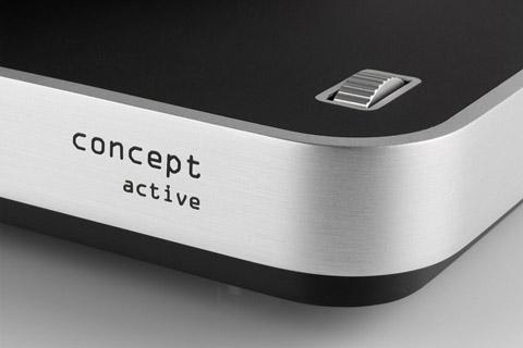 ClearAudio Concept Active pladespiller, sort/sølv