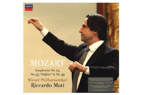 LP: W. A. Mozart - No. 25, 35 & 39