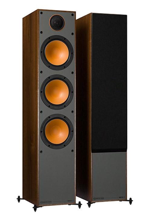 Monitor Audio Monitor 300 gulvhøjttaler, 1 par, valnød