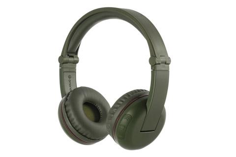 Buddy Phones Play trådløse hovedtelefoner, grøn