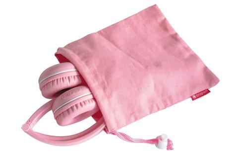 Buddy Phones Play trådløse hovedtelefoner, pink