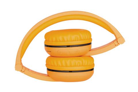 Buddy Phones Play trådløse hovedtelefoner, gul