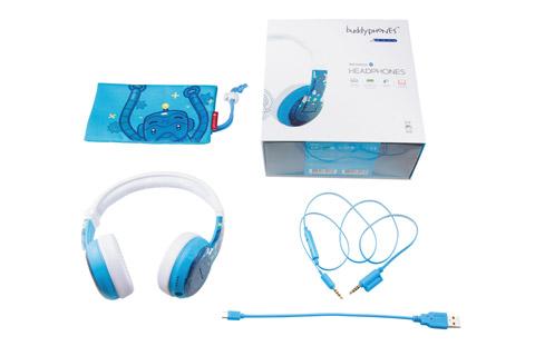 BuddyPhones Wave trådløse hovedtelefoner, blå