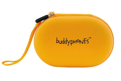 BuddyPhones Wave trådløse hovedtelefoner, gul
