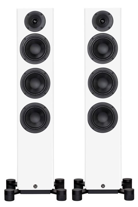 System Audio Legend 40 højttaler, hvid satin