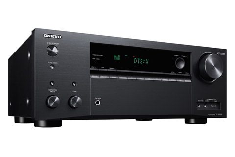 Onkyo TX-NR686 surroundreceiver, sort
