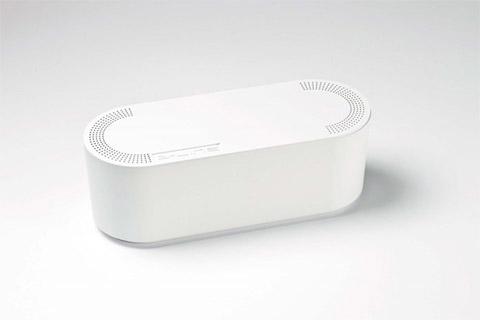 Lille kabelskjuler, hvid