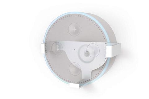 Vægbeslag til Amazon Echo Dot 2 Gen. hvid