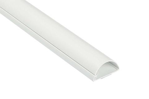 D-LINE kabelbakke, 50x25 mm, hvid