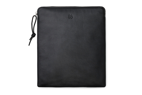 BeoPlay headphone bag, black leather