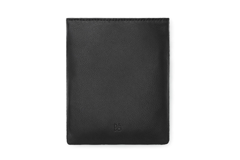 BeoPlay earphone leather pouch, black