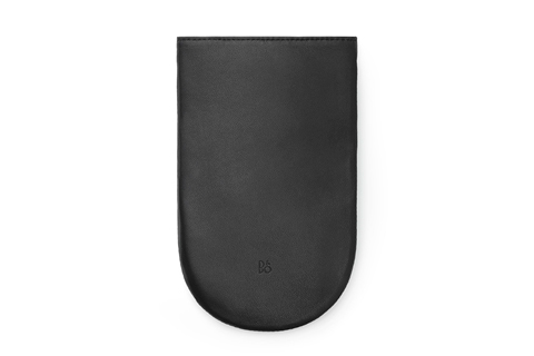 BeoPlay P2 sleeve in leather, black