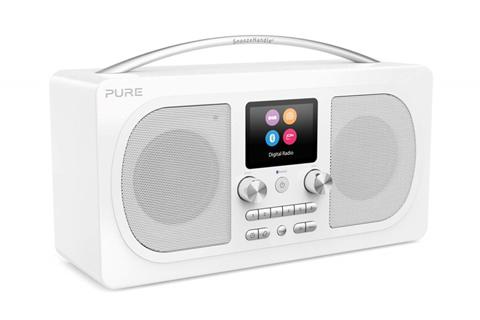 Pure Evoke H6 DAB+ radio, white
