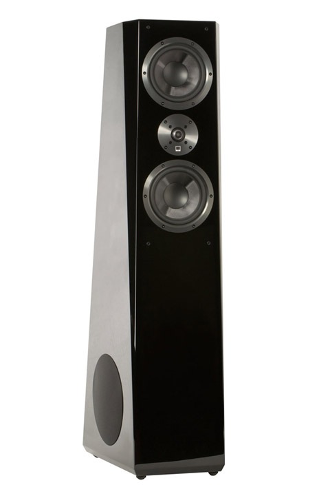 SVS Ultra Tower, black gloss