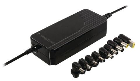 Universal strømforsyning til notebook, 120W