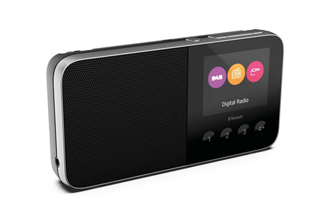 Pure Move T4 FM og DAB+ radio med bluetooth, sort