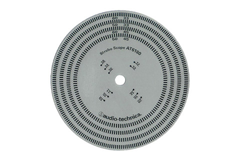 Audio Technica AT6180 Stroboscopic disc