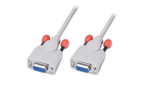 Seriel Null modem kabel (9 pin - 9 pin)