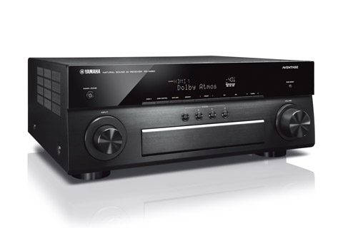 Yamaha Aventage RX-A880 7.2 AV surround receiver, alu sort