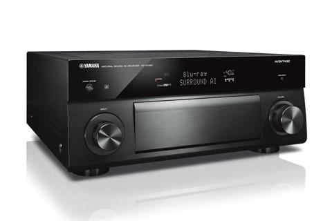 Yamaha RX-A1080 surround forstærker, sort
