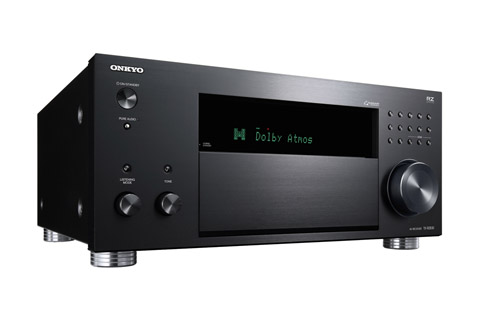 Onkyo TX-RZ830 surround receiver, sort