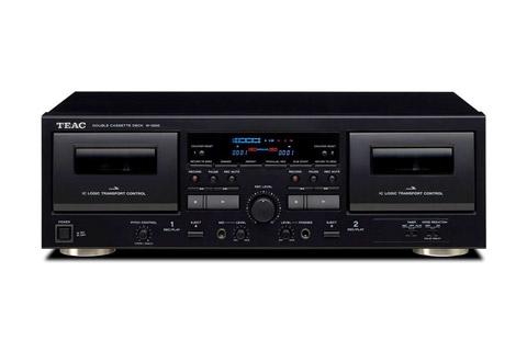 Teac W-1200 dobbelt kassette båndoptager med USB