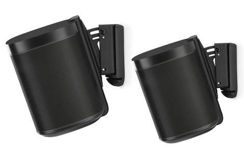 Sonos One - Dual pack, black