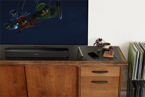 SONOS Beam Soundbar, lifestyle