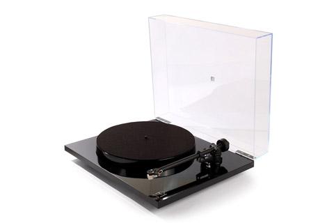 Rega Planar 1 Plus pladespiller med RIAA, sort